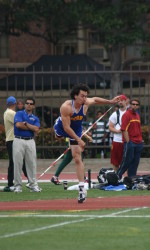 Mann Launches Javelin Over 220 Feet Again for Win