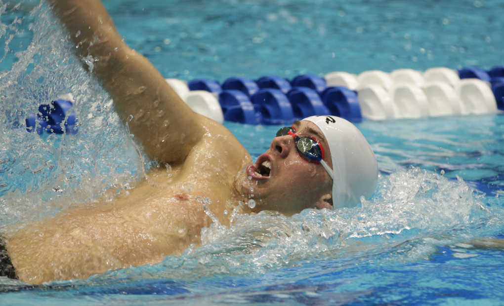 Men's Swimming & Diving Leads Home Invitational After Day One