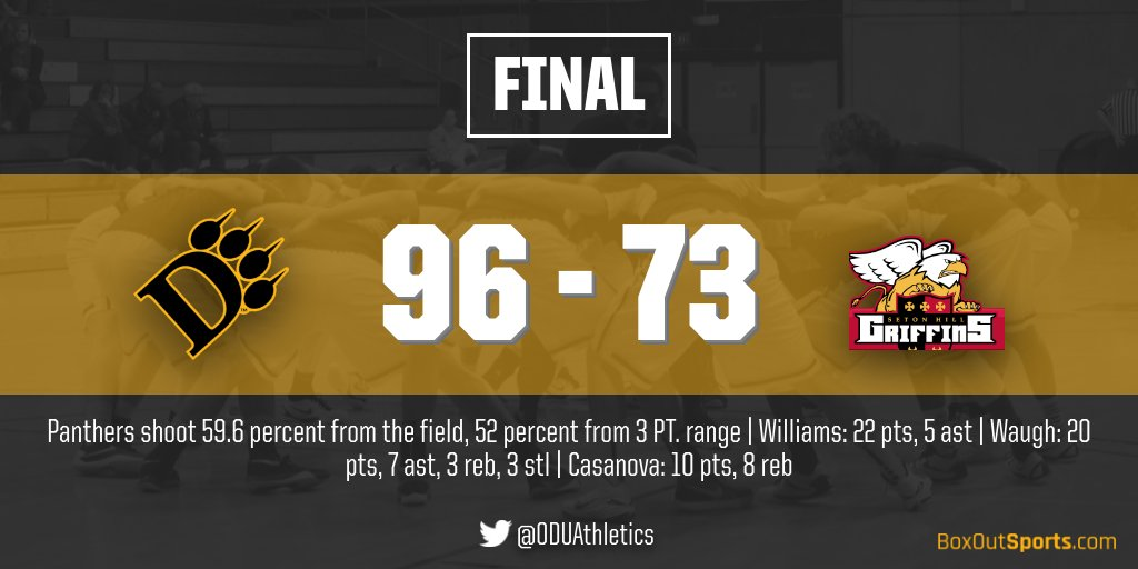Men's Basketball Scorches Nets In 96-73 Win Over Seton Hill