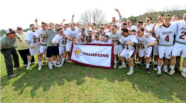 Men's Lacrosse: No. 1 Norwich Wins First-Ever GNAC Championship; Downs No. 2 Mount Ida 9-7