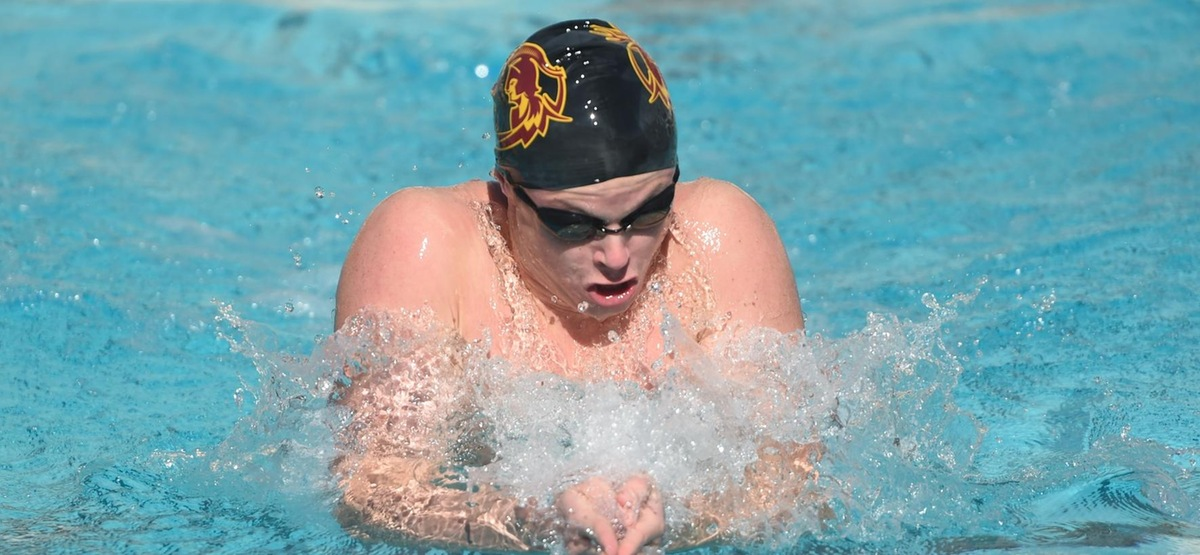 CMS Men's Swimming and Diving Falls to No. 9 Chicago, No. 10 WashU in Tri-Meet