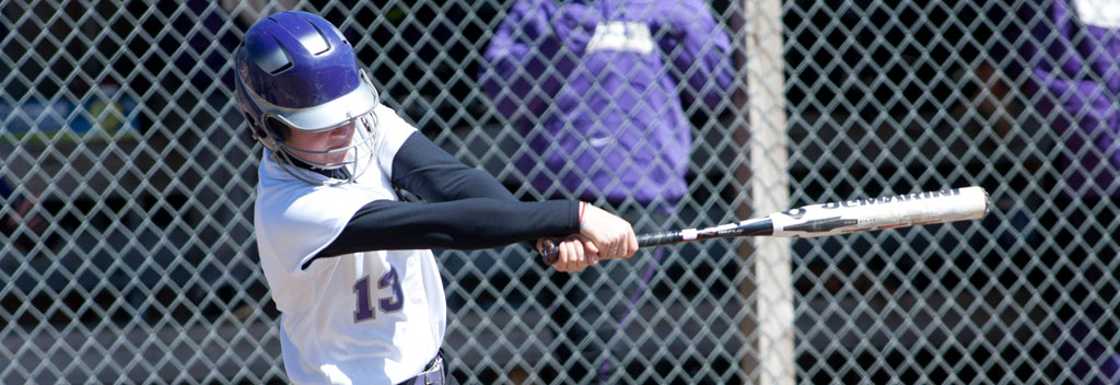 Softball drops pair at AIC in NE-10 action