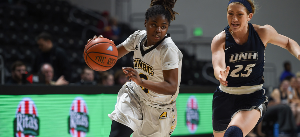 UMBC Women's Basketball Travels to Stony Brook for Valentine's Day Matchup