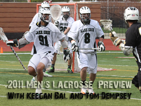 Men's Lacrosse Looks to Jump a Level in Second Season (Video Preview)