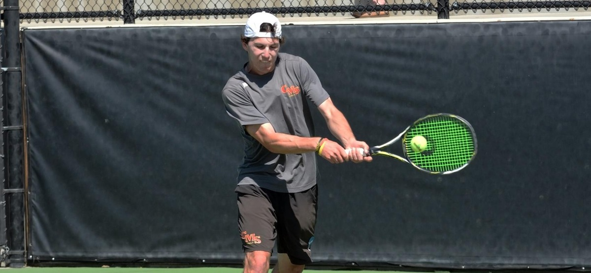 Nikolai Parodi Wins SCIAC Men's Tennis Athlete of the Week Honor