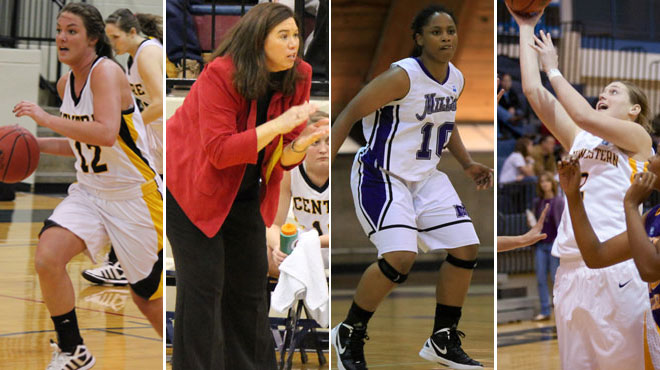 Centre's Prewitt and Austin-Robinson Head 2011-12 All-SCAC Women's Basketball Selections