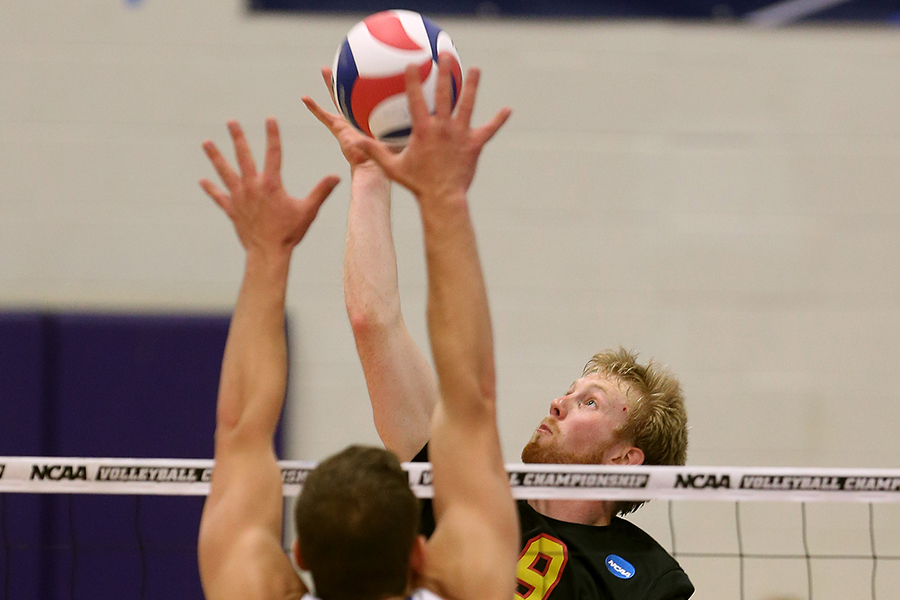 Men's Volleyball Takes GNAC Tri-Match