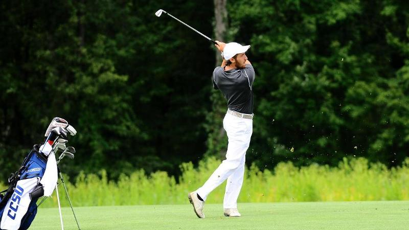 Men's Golf 3rd of 14 After Two Rounds at Turning Stone