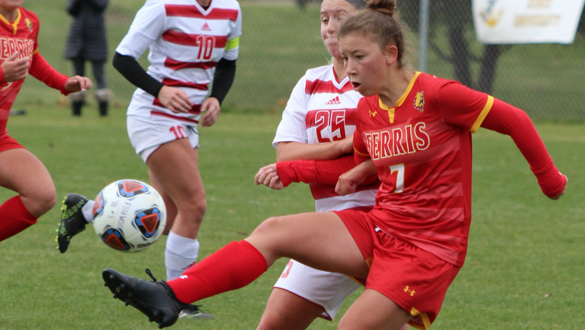 #12 Ferris State Soccer Wins Regular-Season Home Finale With Late Penalty Goal