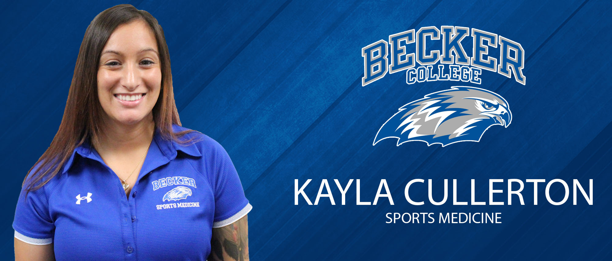 Kayla Cullerton, Associate Athletic Trainer