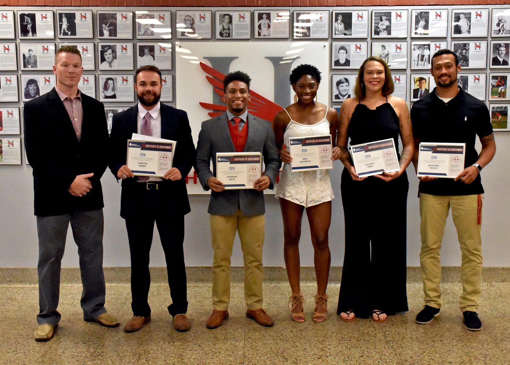 Five Hawks named NSCA All-American Athletes of the Year