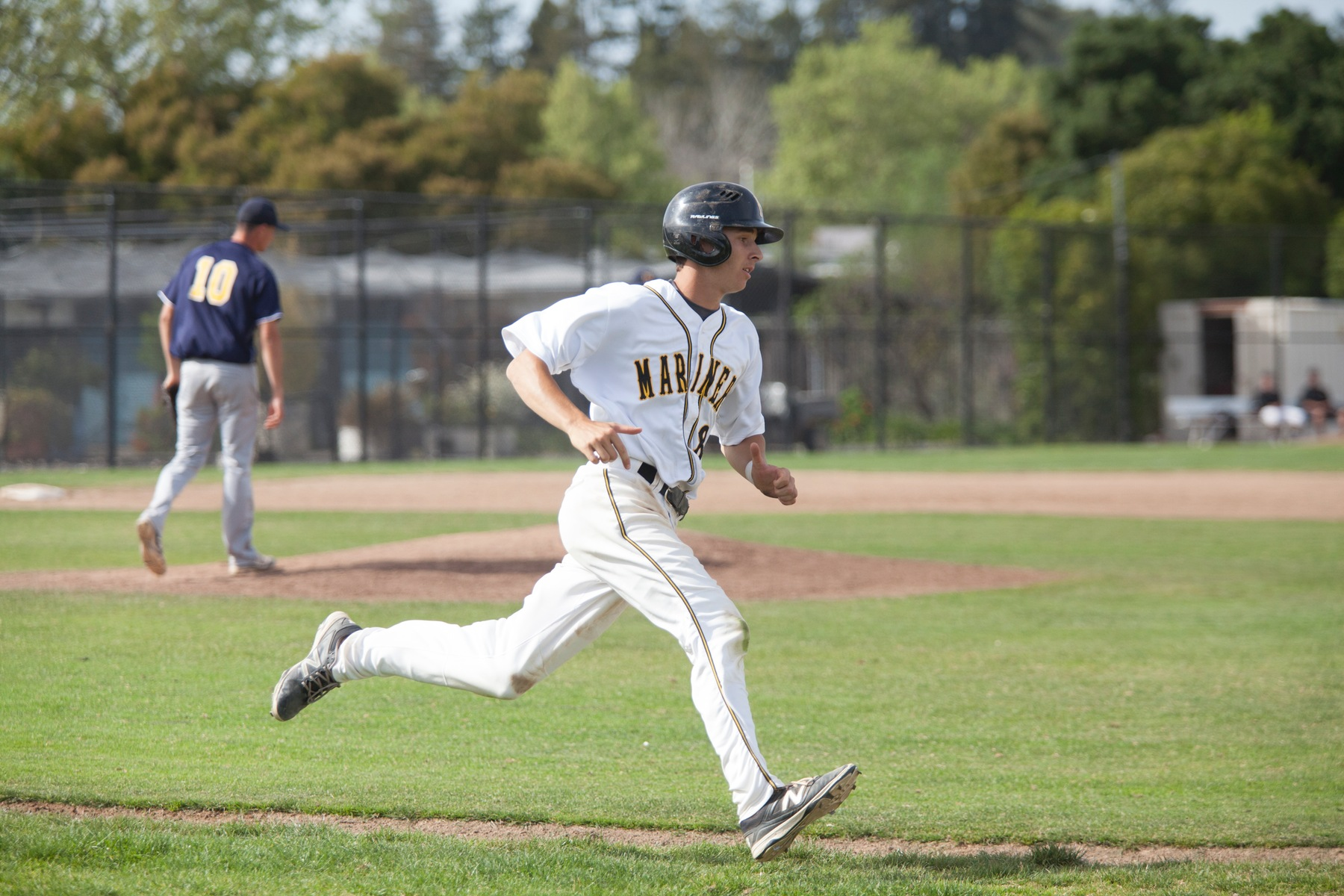 COM Baseball Powers Past Laney 5-3 In Bay Valley Showdown