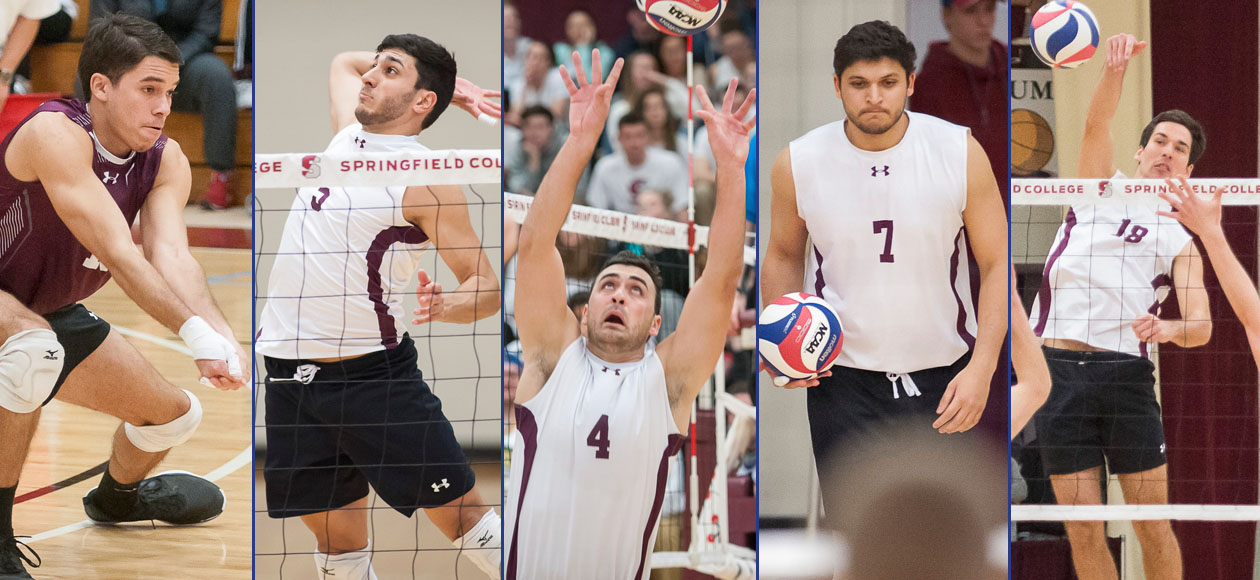 Men's Volleyball Lands Program-Best Five AVCA All-America Selections