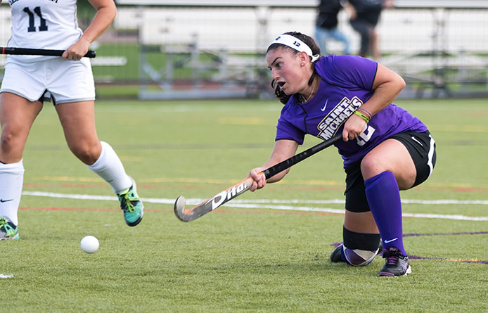 Field Hockey Falls to No. 4 Saint Anselm, 3-1, in Non-League Play