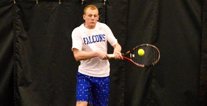 Men's Tennis edged by Adrian in home non-conference match