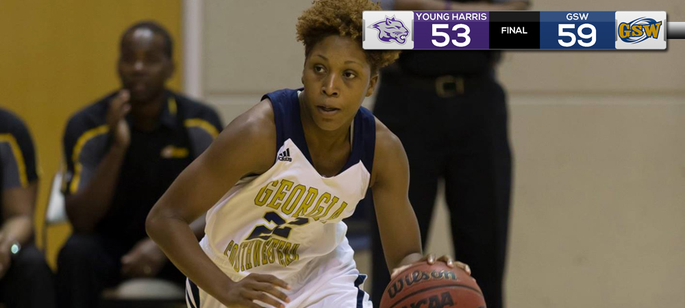 Lady 'Canes Claim First Peach Belt Win Against Young Harris 59-53