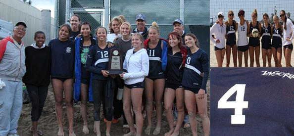 No. 4 Story of the Year - Beach volleyball team is second in state