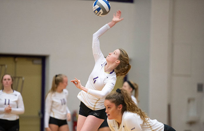 Women's Volleyball Caps Three-Match Homestand with Loss to Bentley