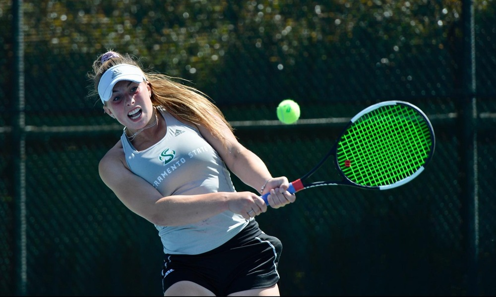 WOMEN'S TENNIS DROPS SATURDAY MATCH ON THE ROAD AT IDAHO
