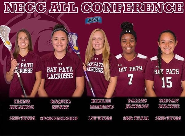 "Five ""Wildcats"" receive NECC All-Conference and Sportsmanship Honors"