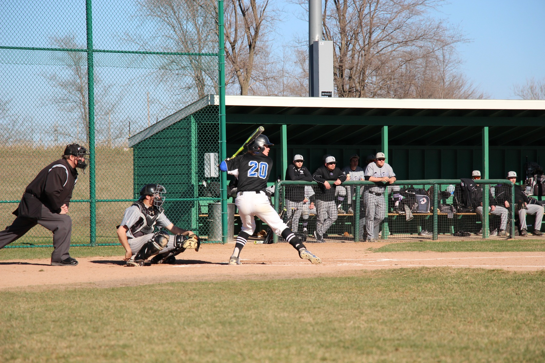 Baseball Sweeps DCTC