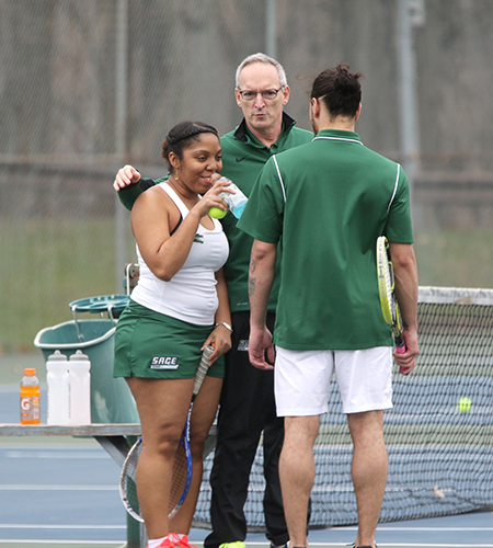 Defending league champions, Yeshiva top Sage in men's tennis pay, 9-0