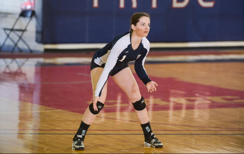 Women's Volleyball Upended in Hard-Fought Battle