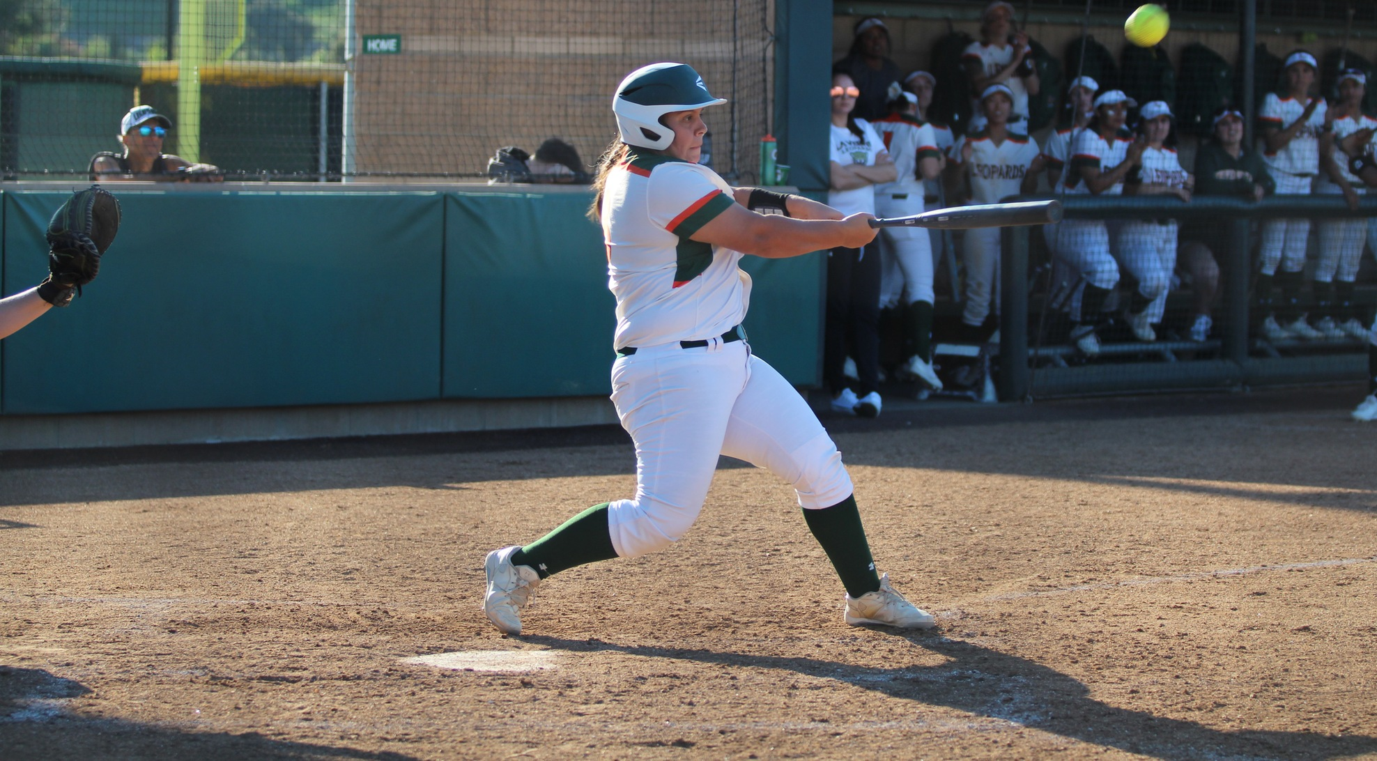 Garcia hits 2 run shot, Softball beats Whittier
