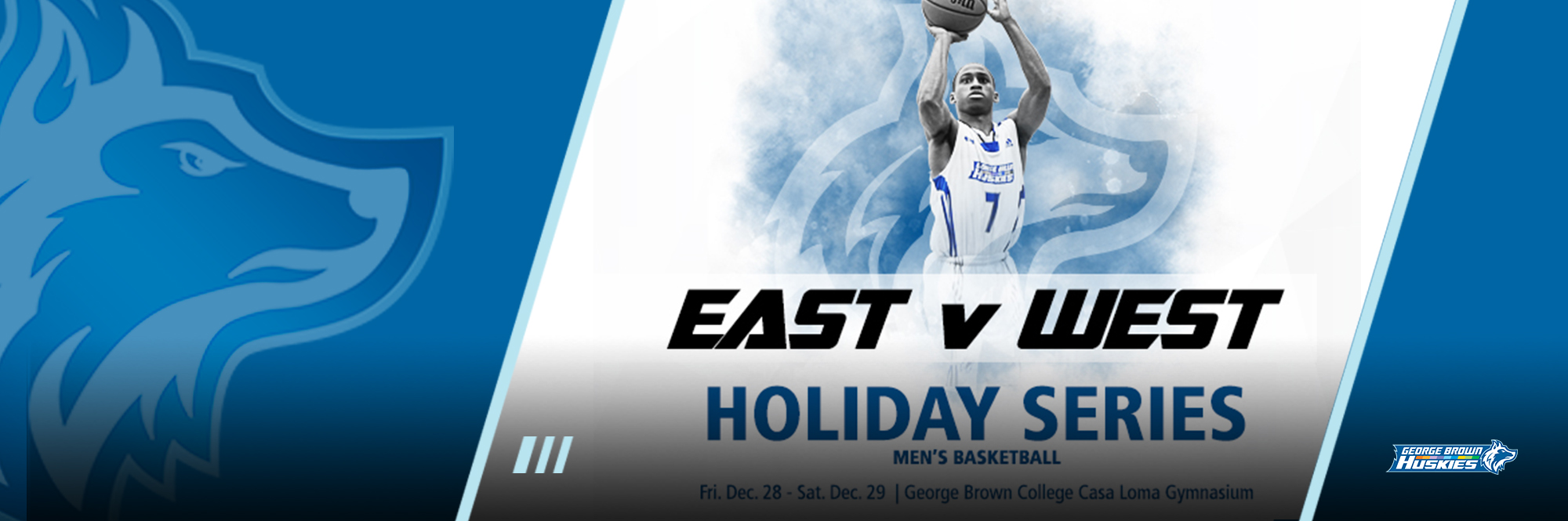 HUSKIES MEN'S BASKETBALL TO HOST ANNUAL EAST/WEST HOLIDAY SERIES