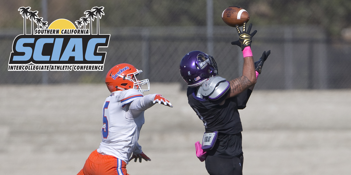 Bryson Sanders named 2nd Team All-SCIAC