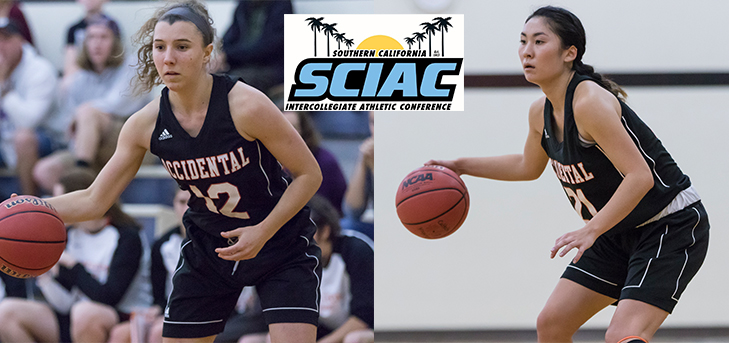 Matsumoto, Anderson Win SCIAC Awards