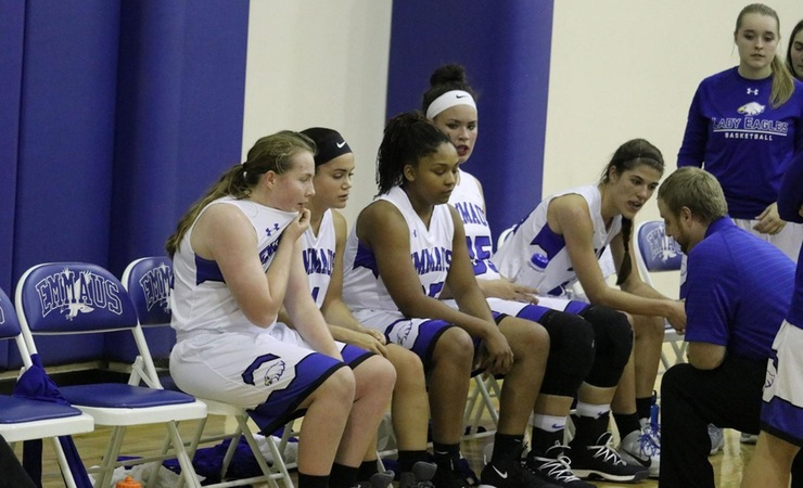Lady Eagles Remain Undefeated in Conference
