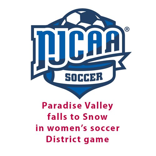Snow eliminates Paradise Valley in women's soccer DI District game