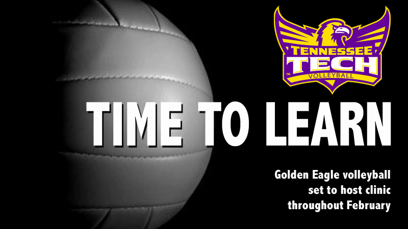 Golden Eagle volleyball team to hold clinic in February