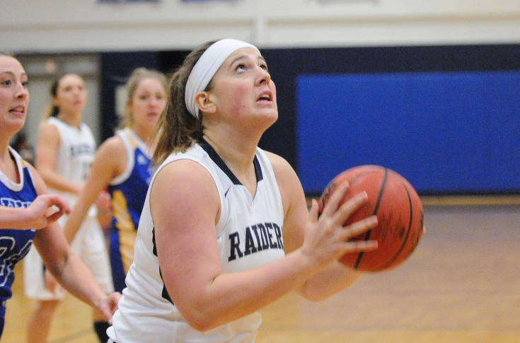 Women's Basketball: Raiders stumble against Norwich, fall 51-35