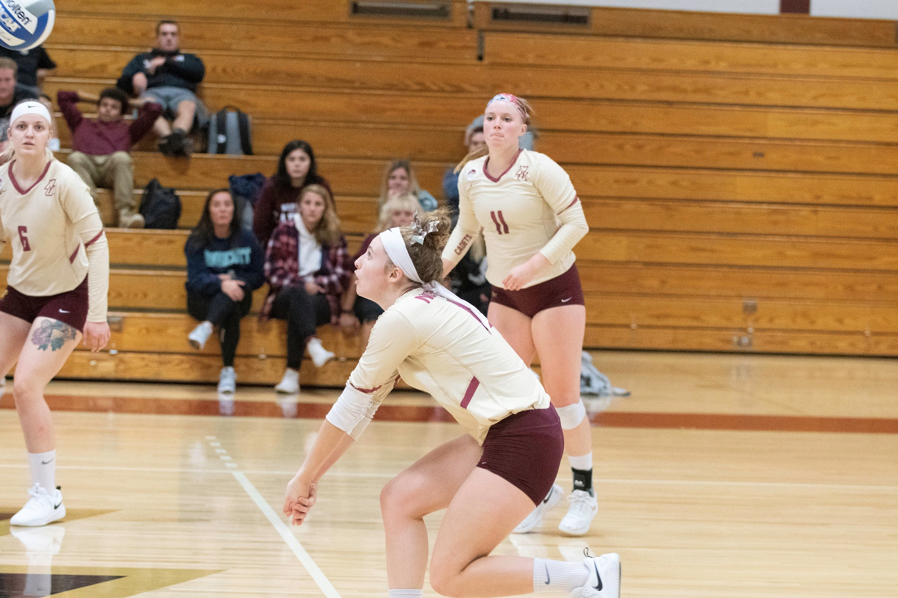 Volleyball: Cadets drop Castleton, 3-0