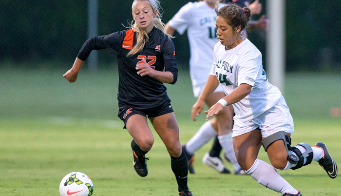 Penalty Kick Lifts Oklahoma State to 2-1 Win Over Cal Poly
