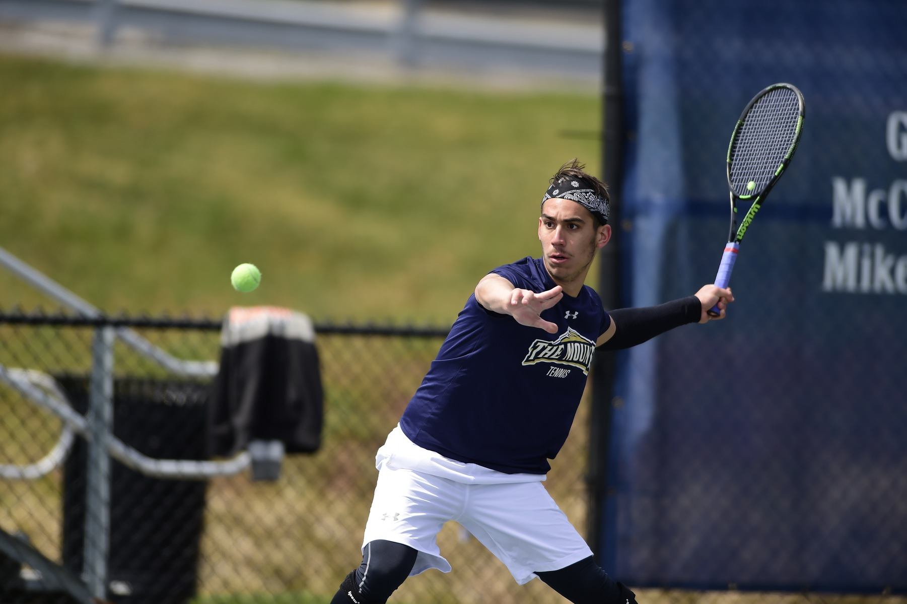 Mount St. Mary's Men's Tennis Finishes Up Day Two Of Navy Gold Invite