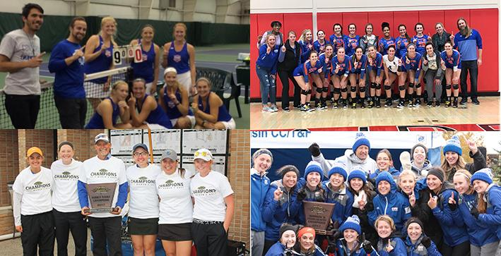 2017-18 Stories of the Year (No. 3): Women win four fall championships, land another All-Sports Award