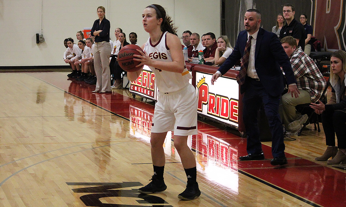 Pride Women's Basketball Earns Win over Wellesley