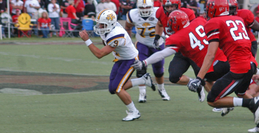 Late rally not enough as Golden Eagles drop OVC opener, 23-21