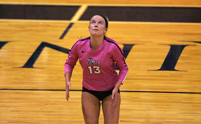 Volleyball Drops Match to Bluffton