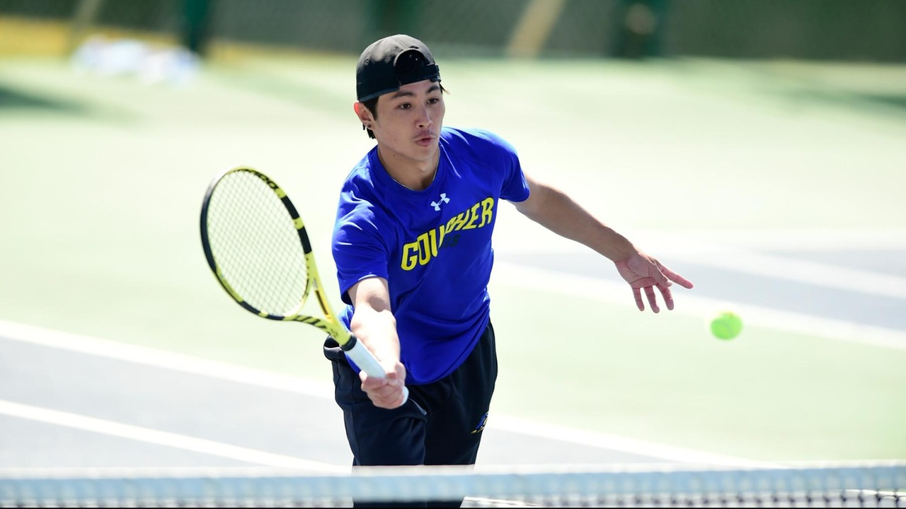 Ota Knocks Off No. 14 Singles Player In NCAA Division III For Goucher Men's Tennis; Mullinix Win At No. 6 Singles To Clinch Match Against Methodist