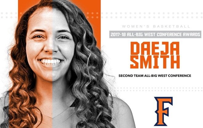 Smith Named to All-Conference Second Team