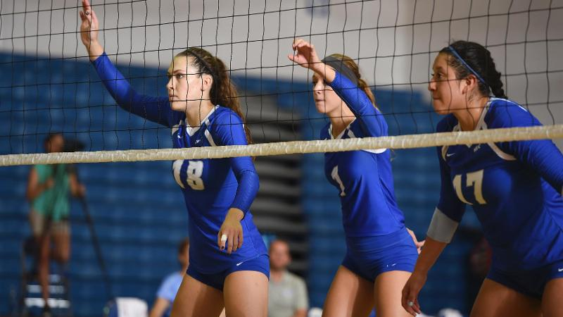 Volleyball Stopped at Bryant, 3-1