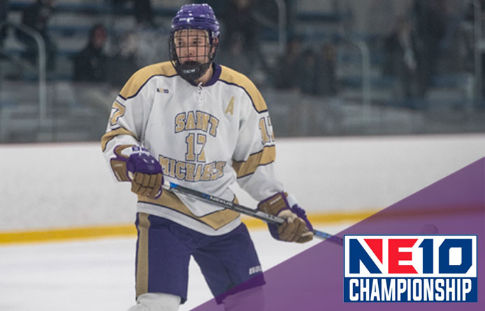 Men's Ice Hockey Falls in NE10 Semifinal Against Southern New Hampshire, 3-2