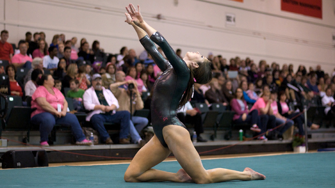 MCCARTNEY FINISHES NINTH IN THE ALL-AROUND SEMIS AT NCAA CHAMPIONSHIPS