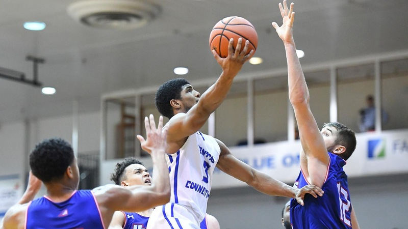 Men's Basketball Shoots Past UMass Lowell, 86-74, in Home Opener