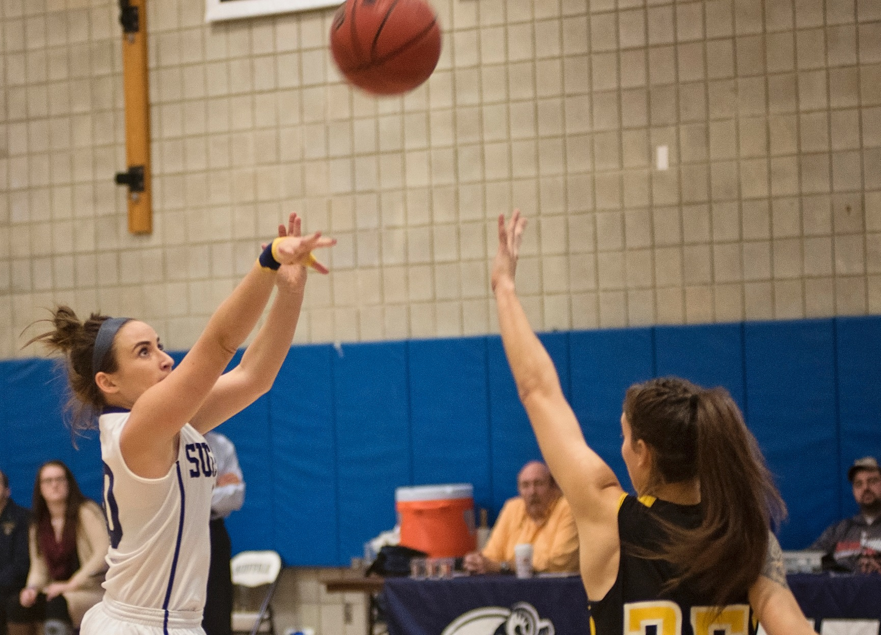 Schiebel Sends Women's Basketball Over Pine Manor, 77-62