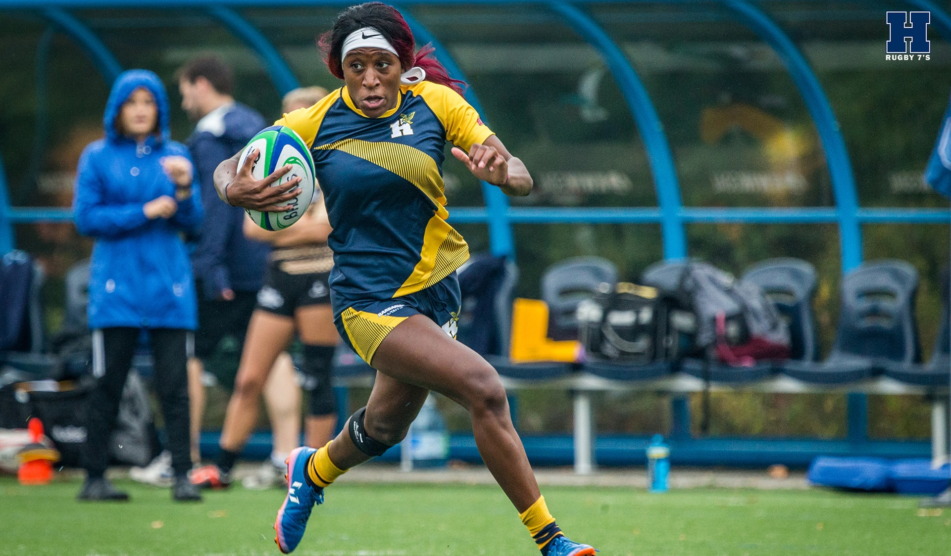 Rugby 7's Finishes East/West With 3-1 Record, Branch Sets New OCAA Single-Game Record